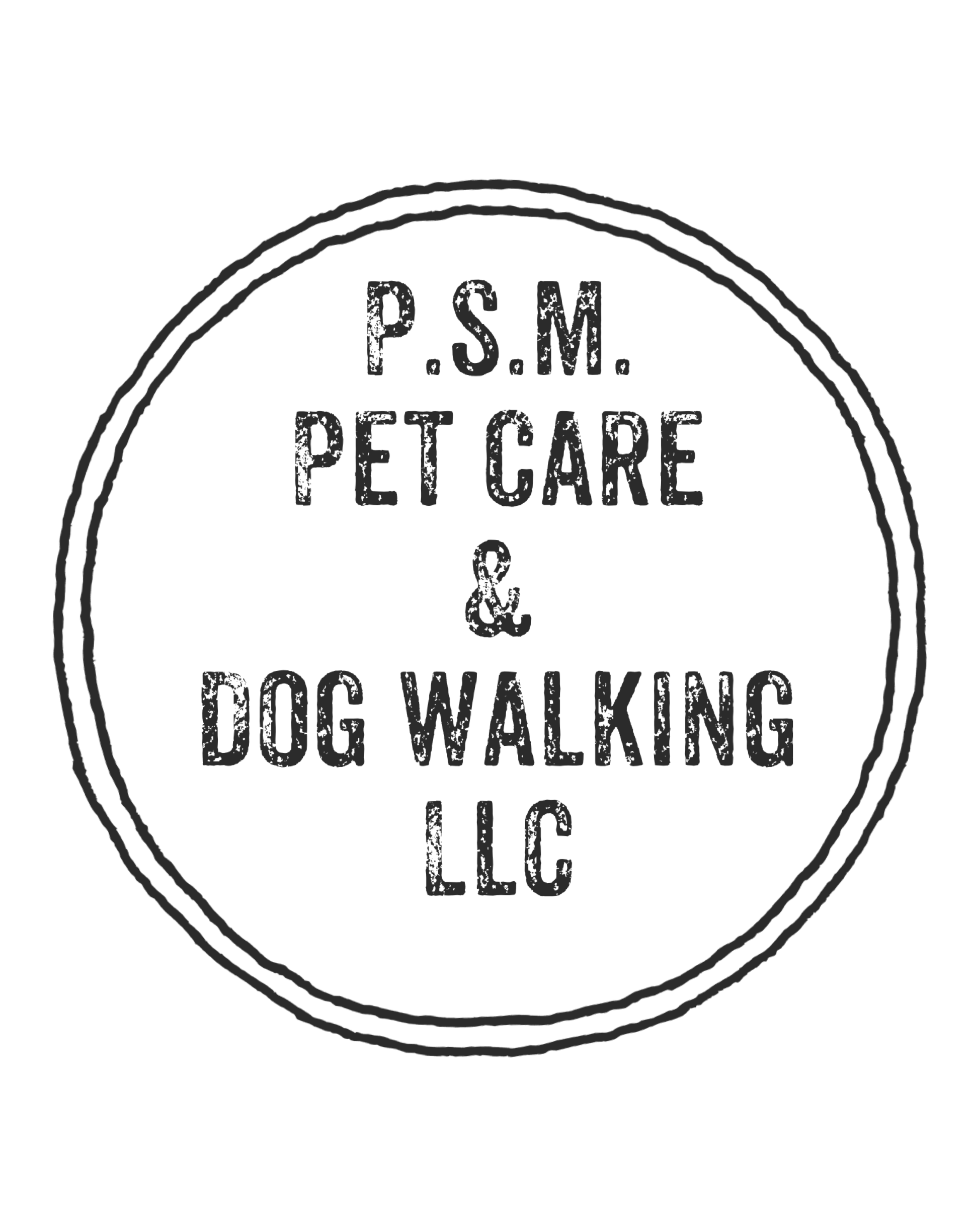 Psm pet care dog walking private care for your pet xflitez Choice Image